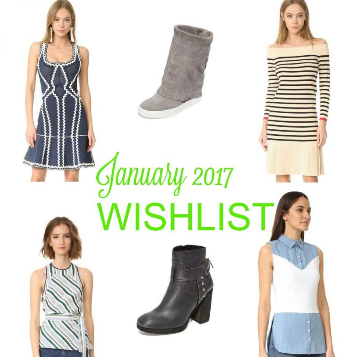 January 2017 wishlist