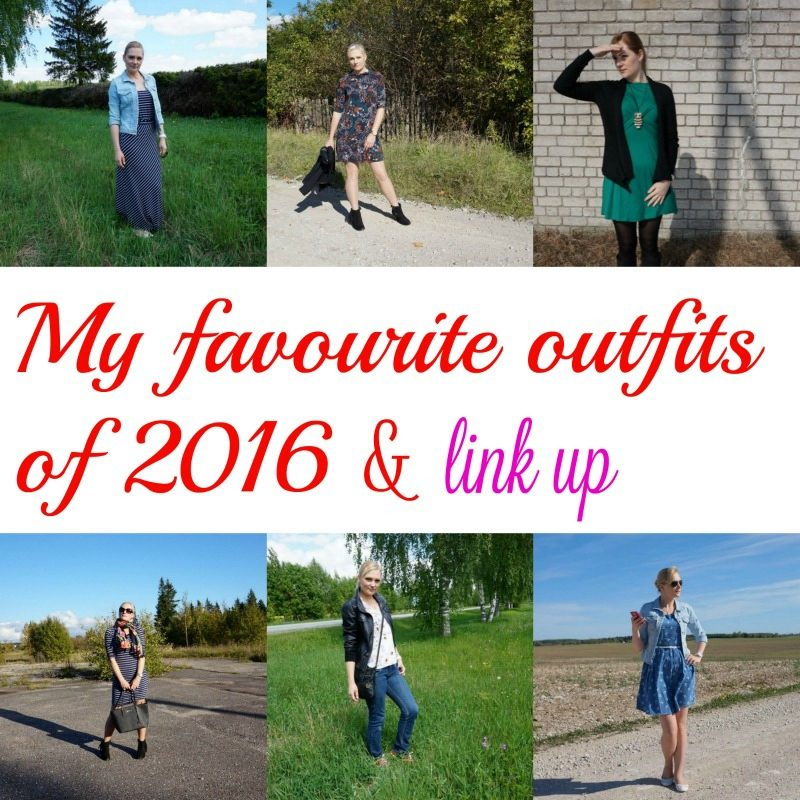 My favourite outfits of 2016 & LINK UP