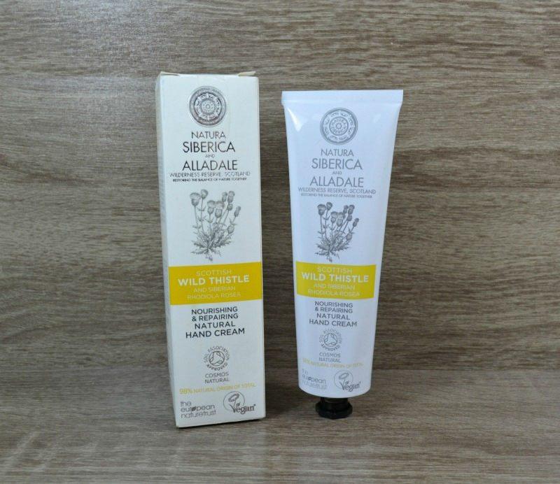 Natura Siberica Alladale Nourishing & Repairing Natural Hand Cream