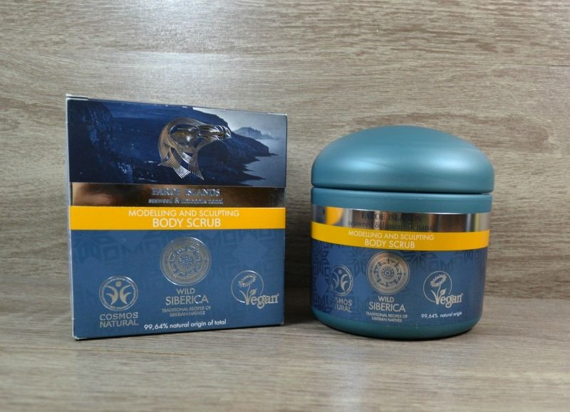 Natura Siberica Faroe Islands Modelling and Sculpting Body Scrub review