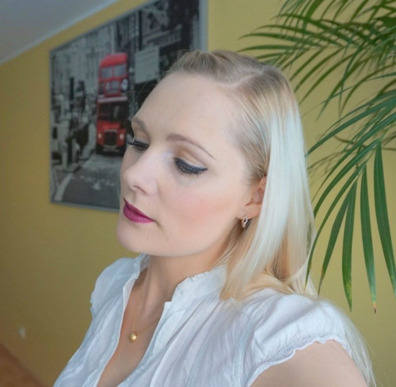 makeup look with essence makeup products