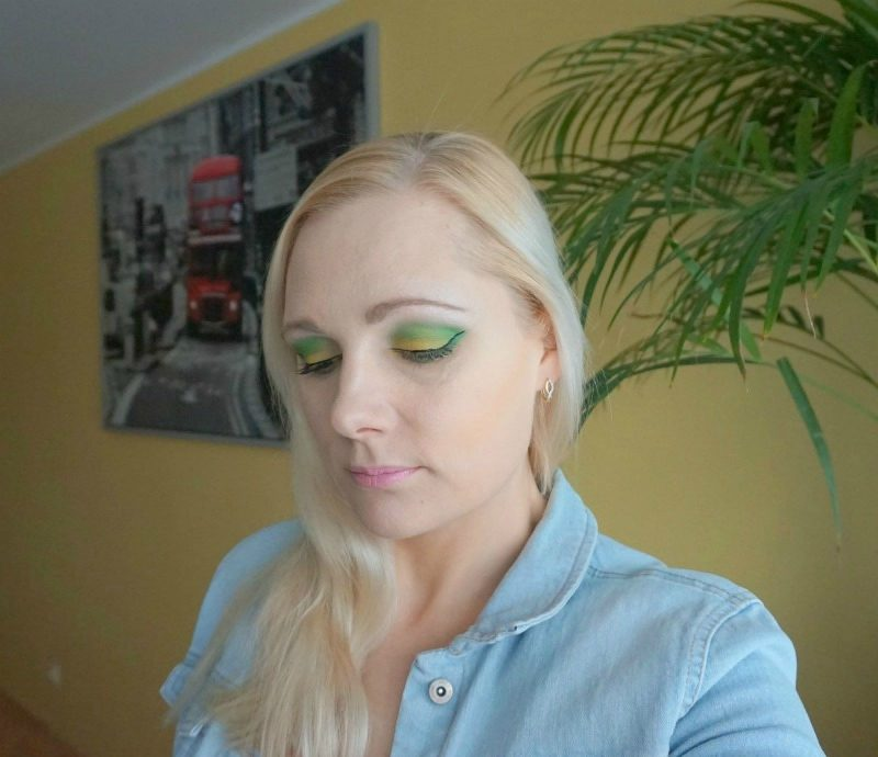 Makeup look inspired of Greenery