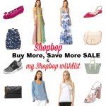 Shopbop Buy More, Save More sale & my Shopbop wishlist