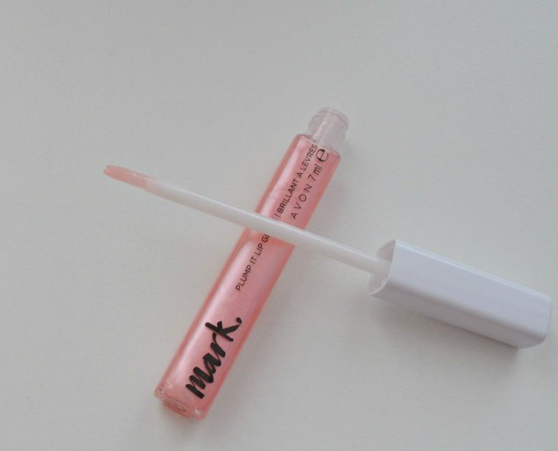 Avon Mark. Plump It Lip Gloss - Pink Pout