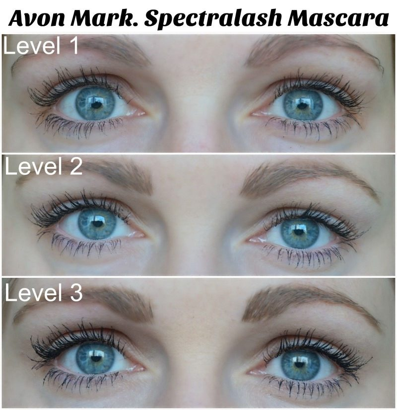 Avon Mark. Spectralash Mascara levels