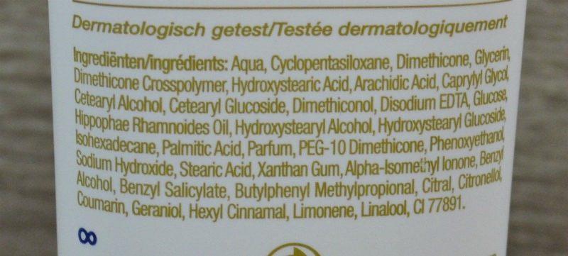 Dove Derma Spa Goodness hand cream ingredients