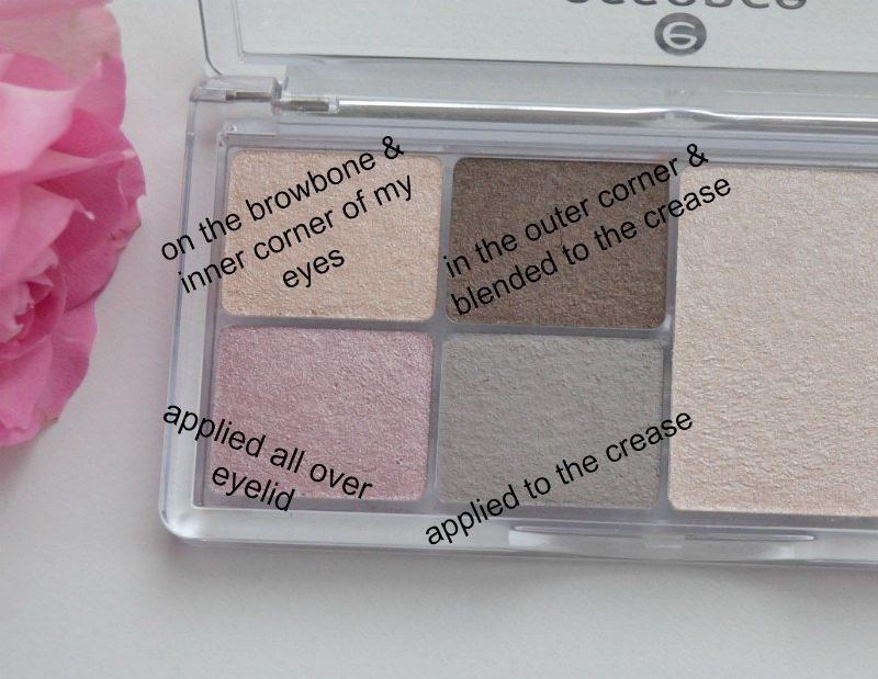 Essence Eye & Face Palette in 01 Glow For It