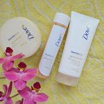 Nourish your skin with Dove DermaSpa Goodness products