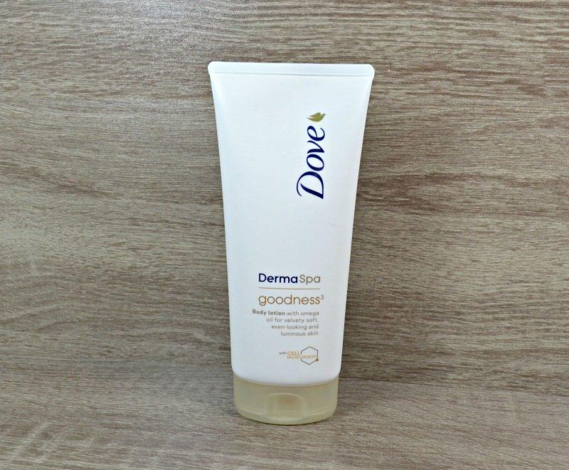 Dove DermaSpa Goodness³ body lotion