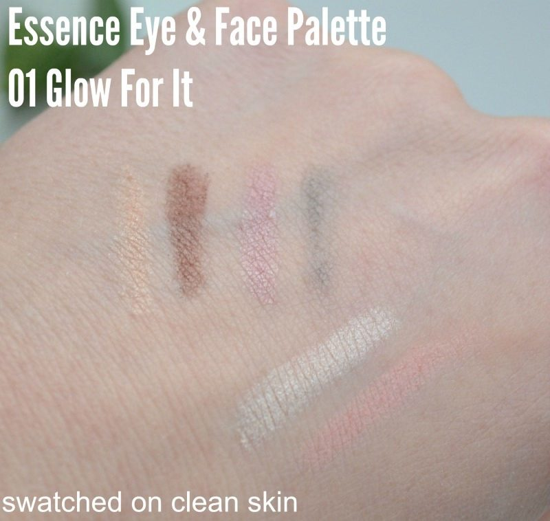 Essence Eye & Face Palette in 01 Glow For It