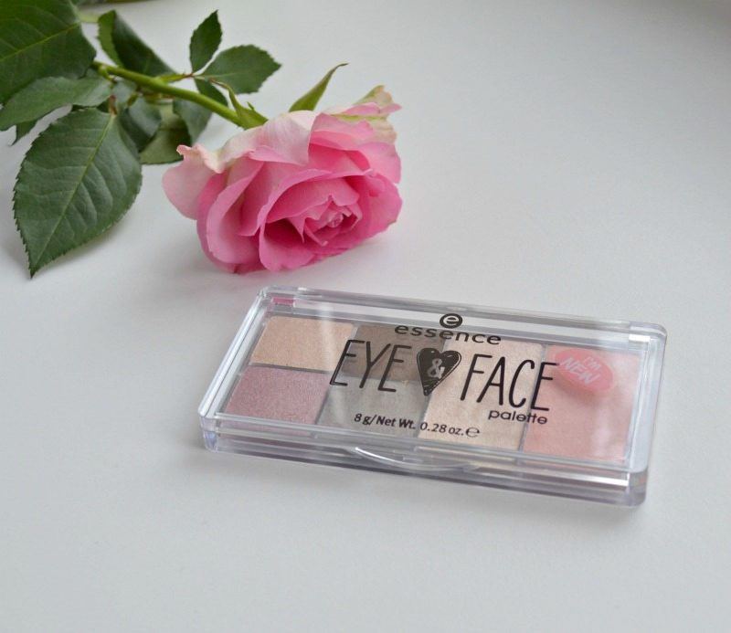 Essence Eye & Face Palette in 01 Glow For It swatches and review