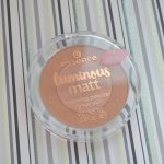 Essence Luminous Matt Bronzing Powder – 01 Sunshine