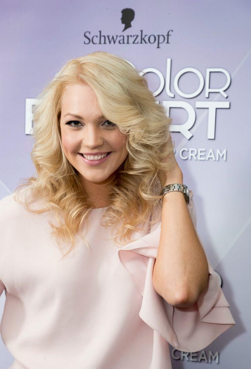 Keili Sükijaineni juuksed pärast Color Expert Omegaplex juuksevärviga värvimist