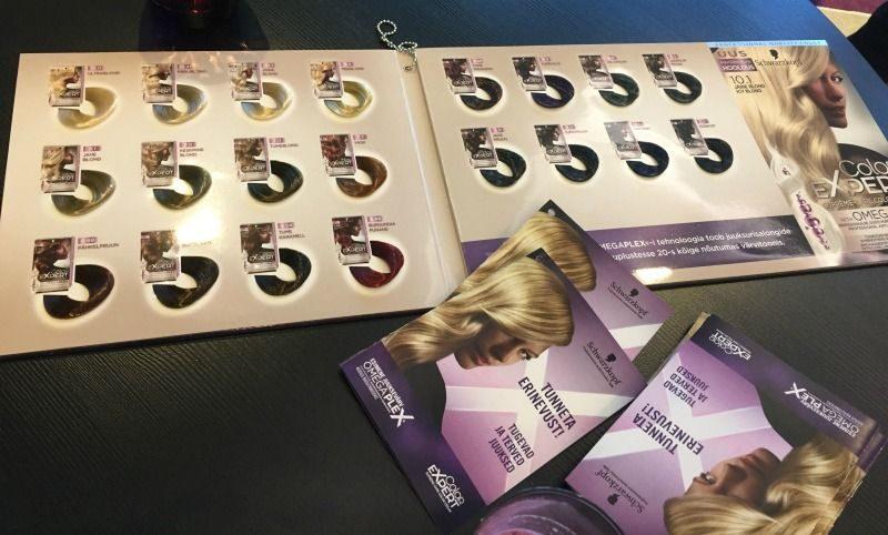 Schwarzkopf Color Expert uus juuksevärv valikus 20 tooni