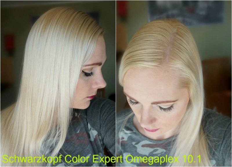 Schwarzkopf Color Expert Omegaplex 10.1 Icy Blond result