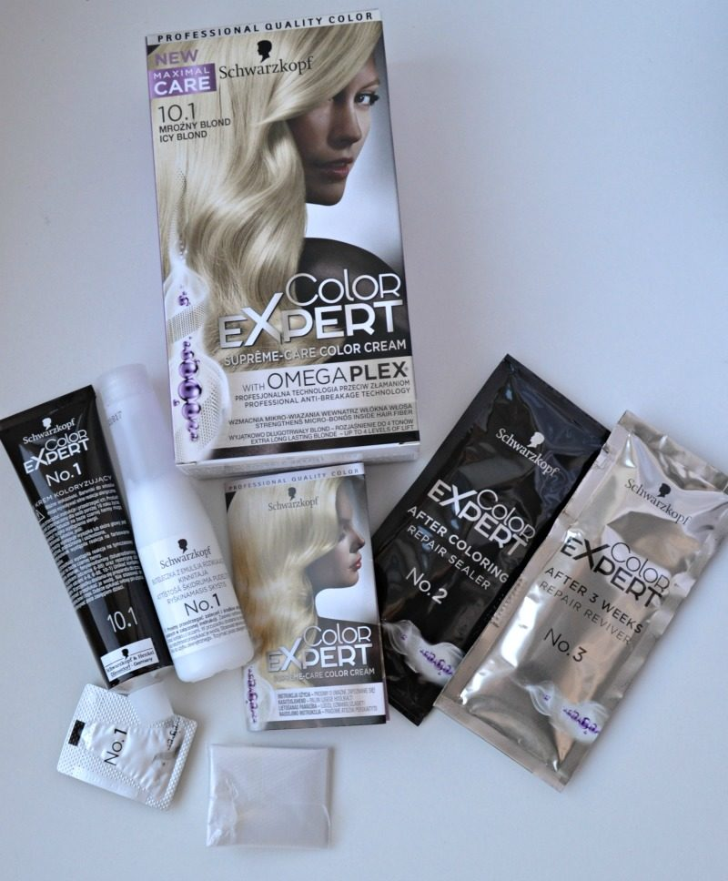 Schwarzkopf Color Expert Omegaplex 10.1 Icy Blond review