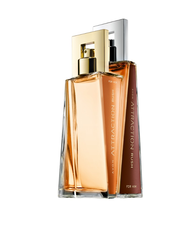Avon Attraction Rush for Her EDP & for Him EDT