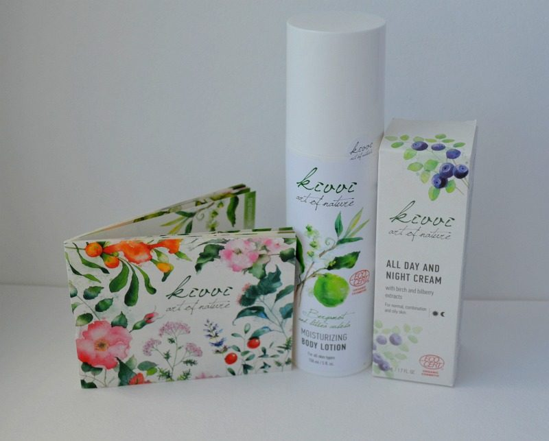 Organic Kivvi Cosmetics from Latvia