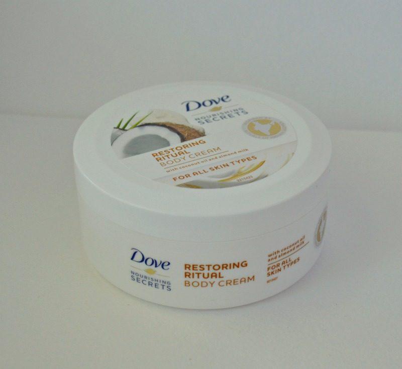 Dove Nourishing Secrets Restoring Ritual Body Cream review
