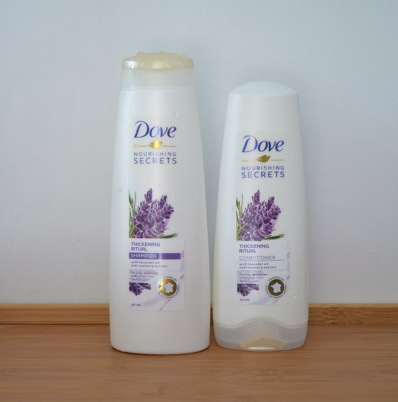 Dove Nourishing Secrets Thickening Ritual Shampoo & Conditioner