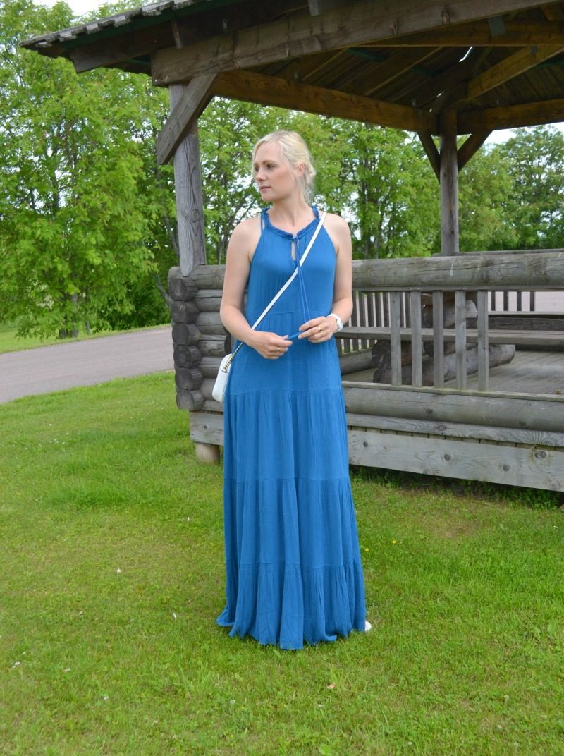 Ella Moss maxi dress and weekly link up