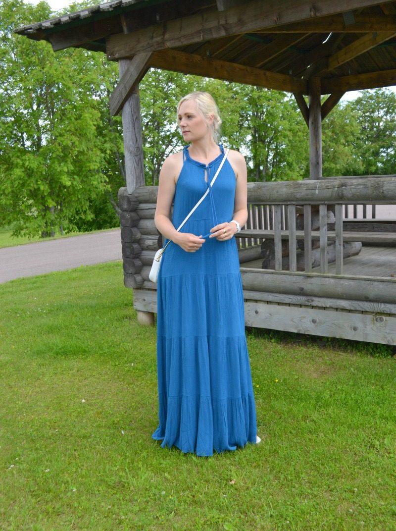 Ella Moss maxi dress and weekly link up