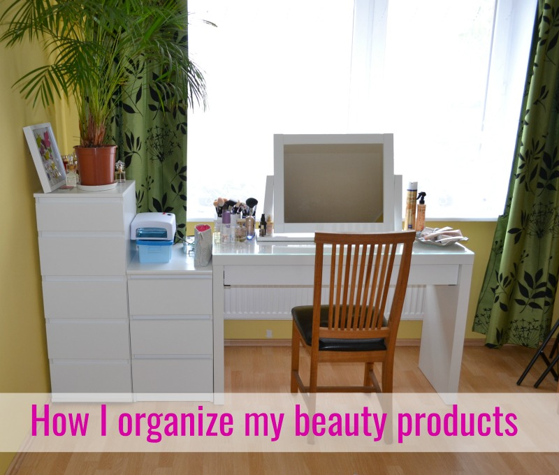 How I organize my beauty products & Essence Cosmetics