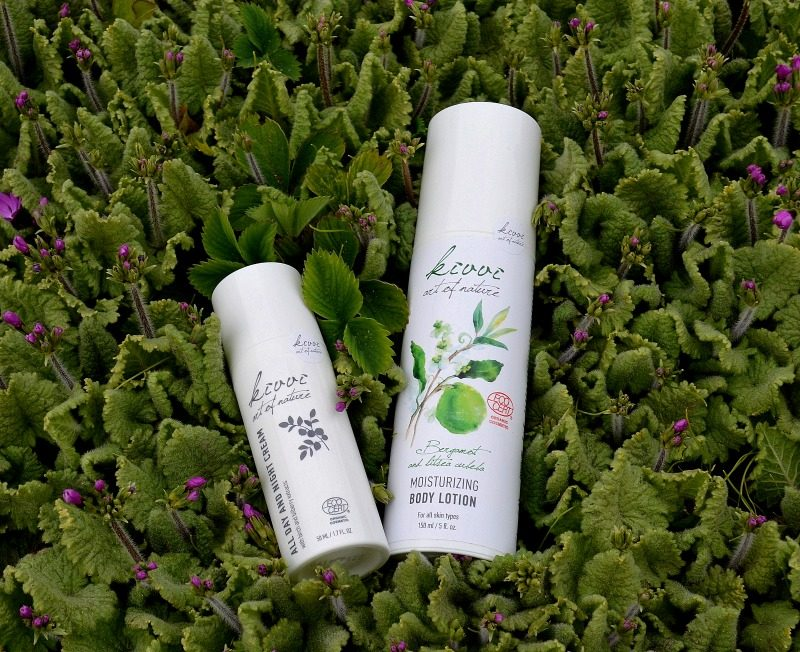 Kivvi Bergamot and litsea cubeba moisturizing Body Lotion & Kivvi All day and night cream with birch and bilberry extracts review