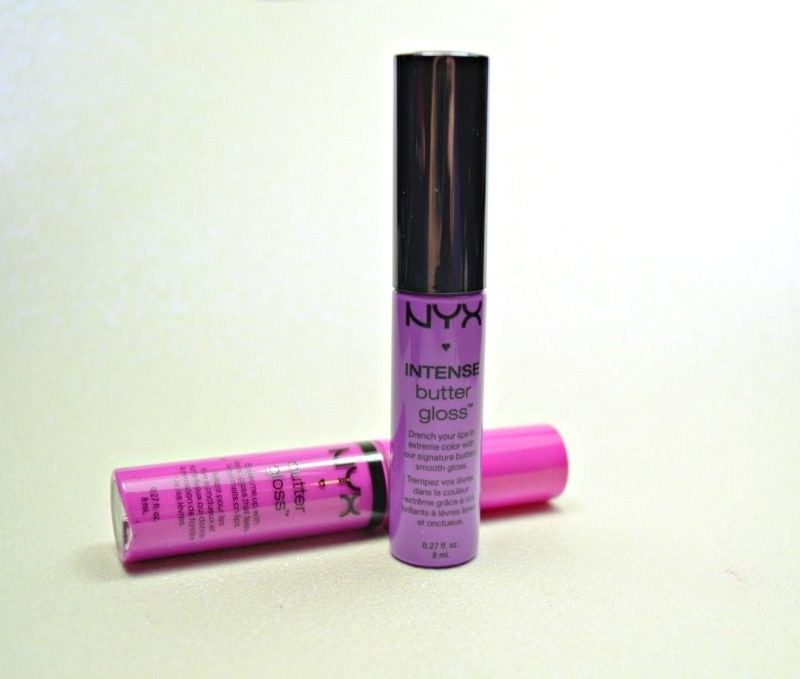 NYX Intense Butter Gloss - Berry Strudel review