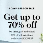 Shopbop Sale on Sale! Additional 25% off on items already on sale!