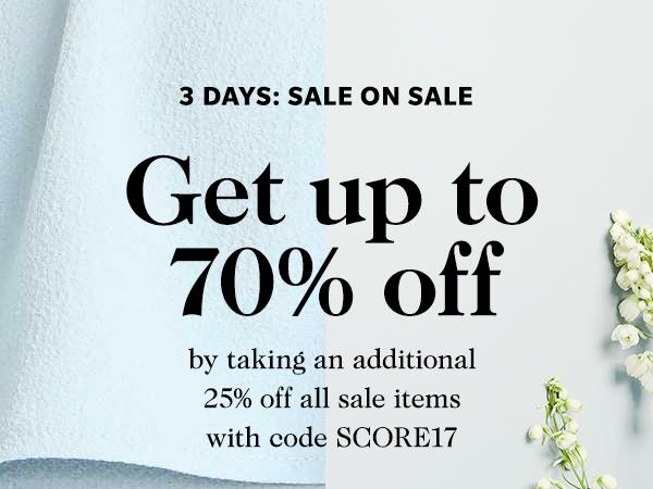 Shopbop Sale on Sale! Additional 25% off on items already on sale