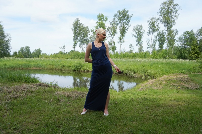 Sundry Maxi Dress & weekly link up #104