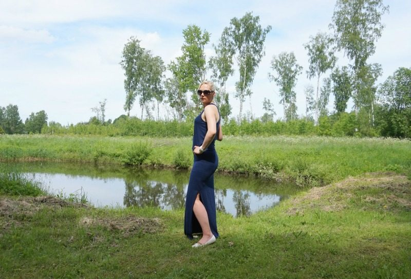 summer outfit featuring Sundry Maxi Dress