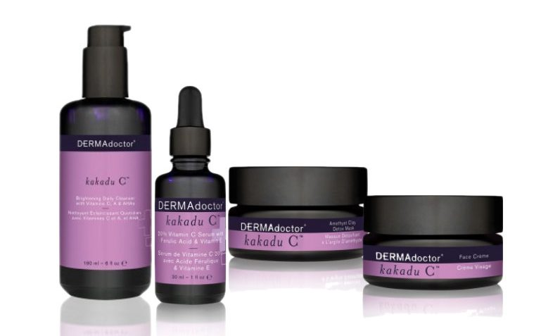 Indulge your skin with DERMAdoctor Kakadu C product line & GIVEAWAY! (US only!)