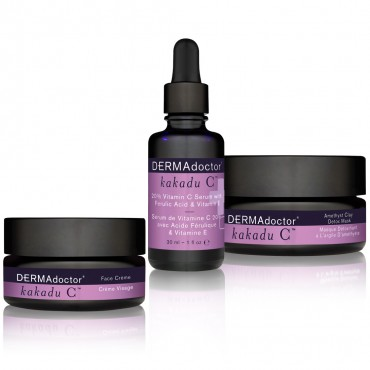 Indulge your skin with DERMAdoctor Kakadu C product line