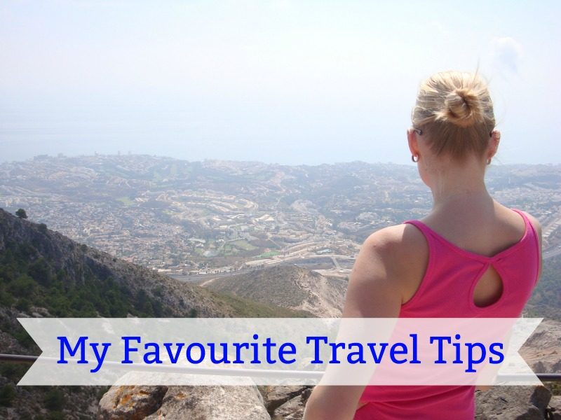 My 11 favourite travel tips