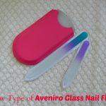 New Type of Aveniro Glass Nail Files