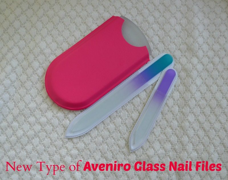 New Type of Aveniro Glass Nail Files