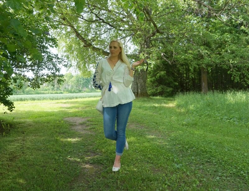 Simple Casual Summer Outfit & weekly link up #106