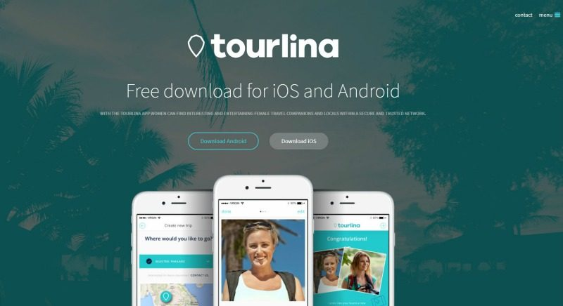 Tourlina is an app that will help you find solo travelers, who has similar interests as you