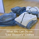 What You Can Do with Last Season's Clothes