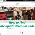 How to find Kate Spade discount code?