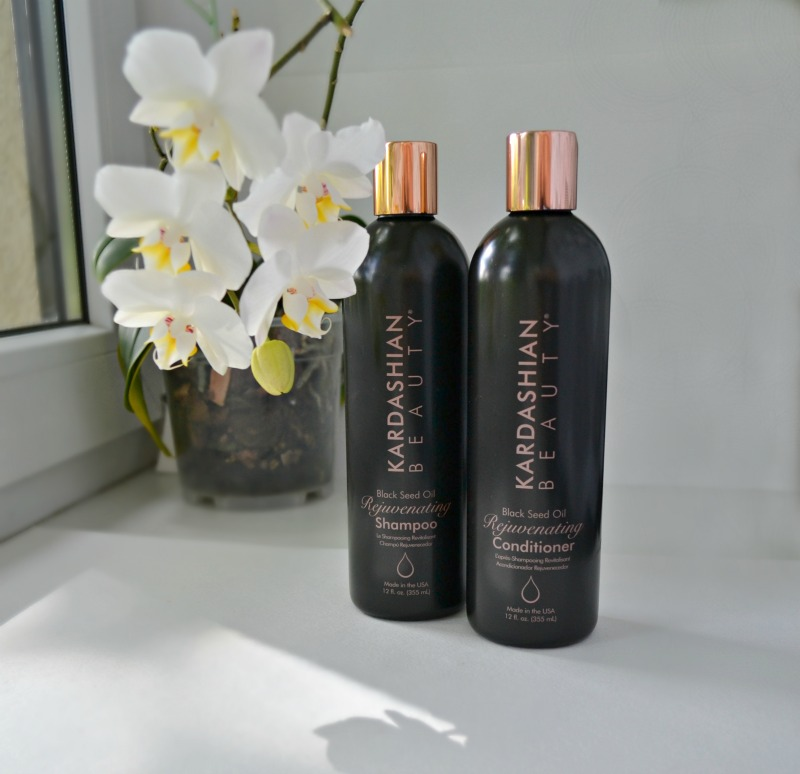 Kardashian Beauty Black Seed Oil Rejuvenating Shampoo & Conditioner