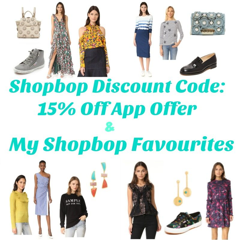 Shopbop Discount Code -15% Off App Offer & My Shopbop Favourites