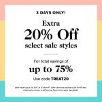 Shopbop Extra 20 off select sale styles