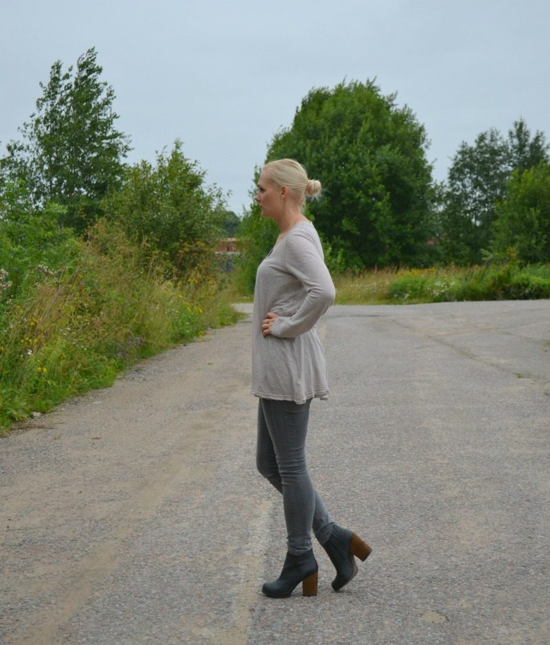 Simple fall outfit feat Free People, ONLY, Jeffrey Campbell