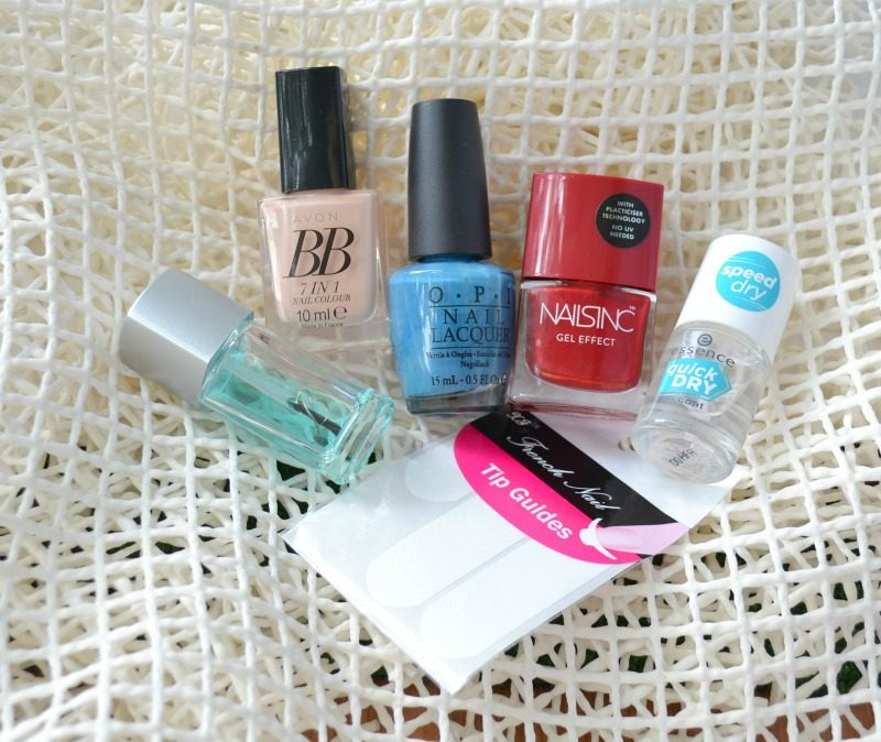 Avon BB 7 in 1 nail colour Caring Créme, OPI Suzi Says Feng Shui, Nails INC Gel Effect The Boltons