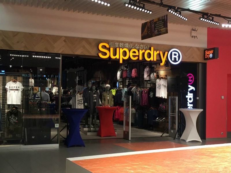 Superdry Store at Rocca al Mare