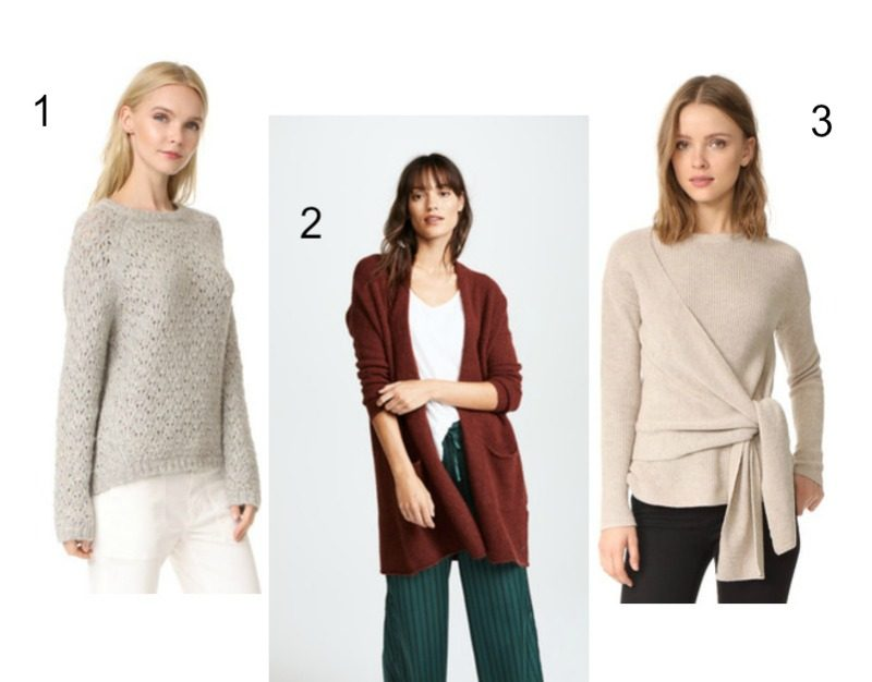 fall wishlist - cozy sweaters