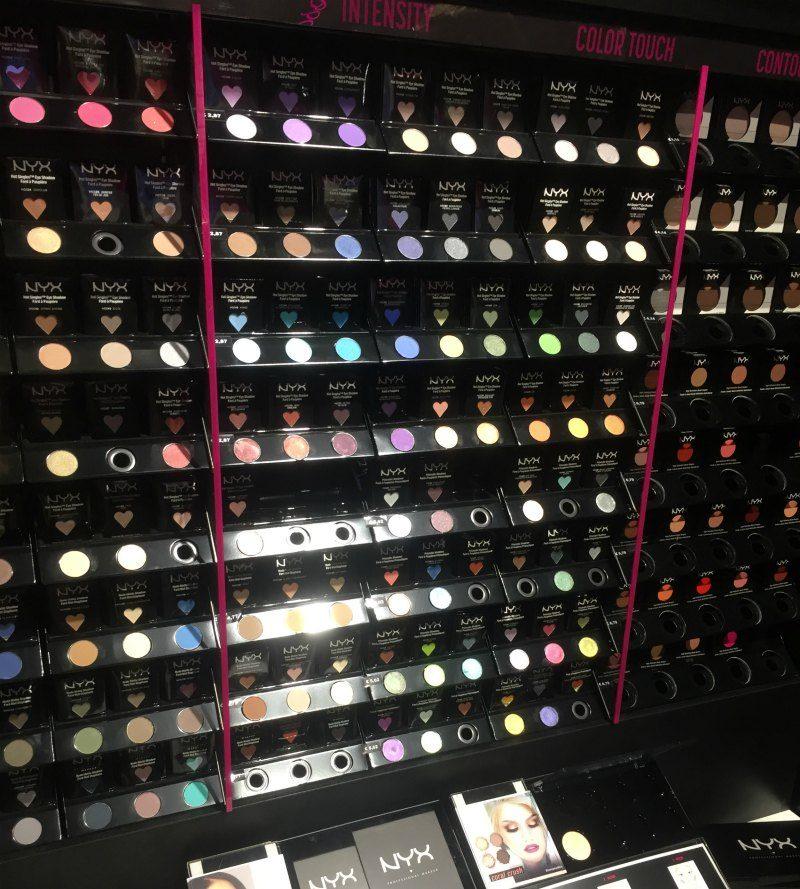 NYX Professional Makeup pood Ülemiste keskuses